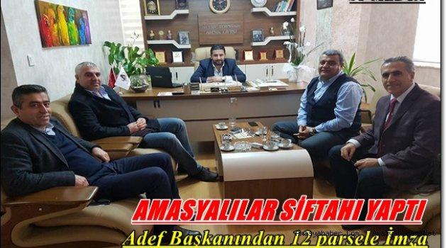 Amasya'lılar Yatırımın Doğru Adresı ALTINTOPRAK Arsa Ofisi Dedi.