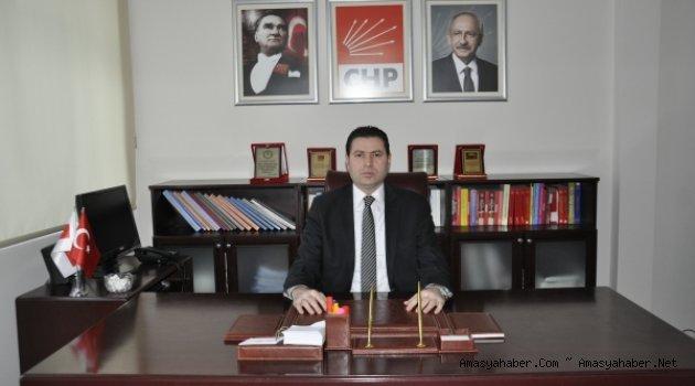 CHP Amasya İl Başkanı Reşat Karagöz ''Amasya Tamımi Açıklaması''
