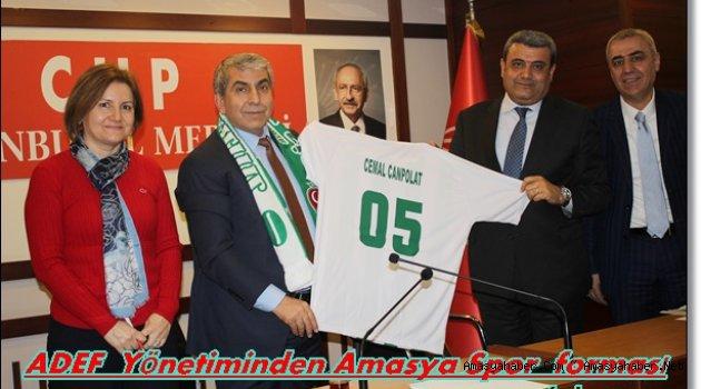 İstanbul CHP İl Başkanlığına  Hayırlı Olsun Ziyareti