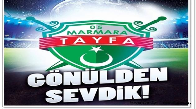 Marmara Tayfa Amasya Spora Destek Gurubu Kuruldu.