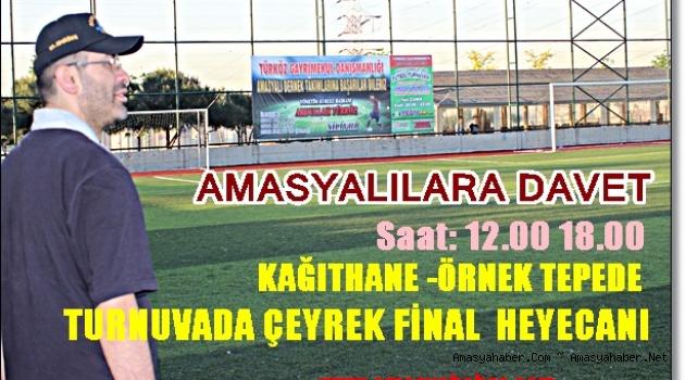 Turnuvada ÇEYREK FİNALİSTLER Belirleniyor.