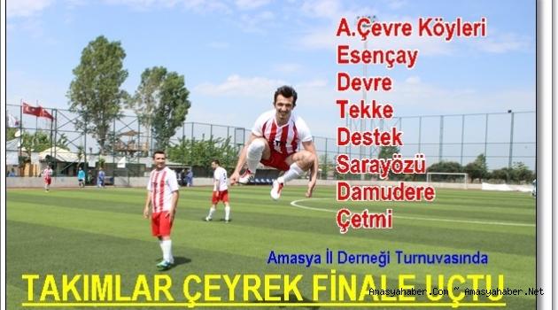 Turnuvanın ÇEYREK FİNALİSTLERİ BELLİ OLDU.