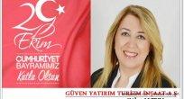 Güler ALTUN'un 29.Ekim Cumhuriyet Bayramı Mesajı