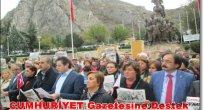 CHP İl Yönetiminden Cumhuriyet'e Destek