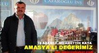 Amasya'lı Değerimiz ''Nizamettin KAYA''