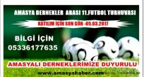 AMASYA  İL DERNEĞİ FUTBOL TURNUVASINDA BAŞVURU SON  GÜN  05.03.2017