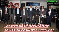 Destek Köyü Derneğimiz 20.Yaşını Coşkuyla Kutladı..