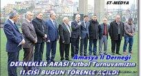 İstanbul / AMASYA DERNEKLER Futbol Turnuvası Açılışı
