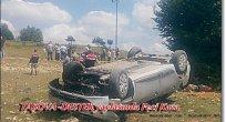 Taşova Destek Köyü Yaylasında Trafik Kazası