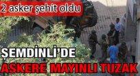 Amasya Yeşilöz Köyüne Ateş Düştü. Şemdinli'de Şehidimiz Var