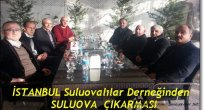 İstanbul Suluovalılar Derneği Yönetimi Suluova'da
