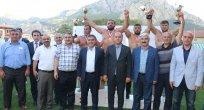 Amasya'da Baş Pehlivan Ali Rıza KAYA