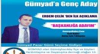 GÜMYAD Kongresinde ERDEM ÇELİK Başkan adayı