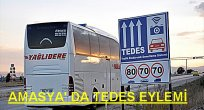 Tedes Cezaları Şöförü Çıldırttı.